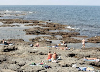 Strand in Livorno